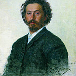 Self-portrait. 1887, Ilya Repin
