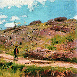 Ilya Repin - Summer landscape in the Kursk province. 1876-1915