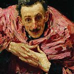 Ilya Repin - Portrait of an actor, playwright and director VD Ratov (SM Muratov). 1910