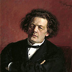 Ilya Repin - Portrait of the Composer Anton Rubinstein. 1881
