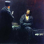 Ilya Repin - Denial of confession (before confession). 1879-1885