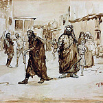 Ilya Repin - Prophet. About 1890