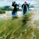 Ilya Repin - What space!. 1903