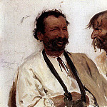 Ilya Repin - Two Ukrainian peasant. 1880