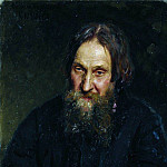 Portrait of Vasily Kirillovitch Syutayev. 1882, Ilya Repin