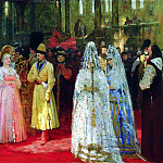 Ilya Repin - Select tsar (the Grand Dukes) fiancee. 1884-1887