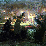Ilya Repin - If everything is not me. . . 1896