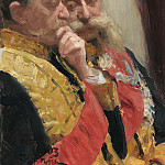 Ilya Repin - Portrait Goremykin and N. Gerard, members of the Council of State. 1903