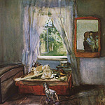 Konstantin Andreevich (1869-1939) Somov - In the nursery. 1898