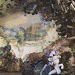 Konstantin Andreevich (1869-1939) Somov - Holiday in the vicinity of Venice. 1930