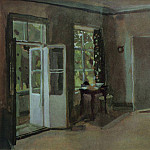 Konstantin Andreevich (1869-1939) Somov - Interior. The second half of 1890