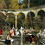 part 12 Hermitage - Flameng, Francois. Bathing of the ladies in the 18 century