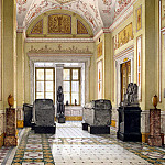 part 12 Hermitage - Ukhtomsky, Konstantin Andreevich. Types of rooms of the New Hermitage. Cabinet of Egyptian Sculpture