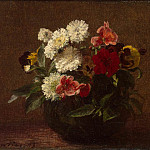 part 12 Hermitage - Fantin-Latour, Henri. Flowers in a clay vase
