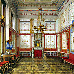 part 12 Hermitage - Ukhtomsky, Konstantin Andreevich. Types of rooms in the Winter Palace. Pompeian or Small Dining