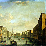 part 12 Hermitage - Tironi, Francesco. View of the Grand Canal