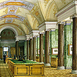 part 12 Hermitage - Ukhtomsky, Konstantin Andreevich. Types of rooms of the New Hermitage. Hall prints