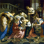 part 12 Hermitage - Tintoretto, Jacopo Robusta. Birth of John the Baptist