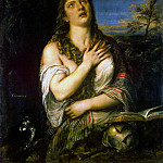 Titian. Penitent Mary Magdalene, part 12 Hermitage