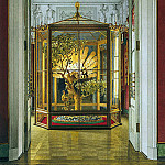 part 12 Hermitage - Ukhtomsky, Konstantin Andreevich. Types of rooms of the Small Hermitage. Peacock Clock in the Eastern Gallery