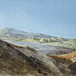 part 12 Hermitage - Uele, Jean-Pierre-Laurent. View of Etna near the top of Monte Rosso