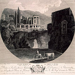 part 12 Hermitage - Hakkert, George Abraham. Temple of Sibyl in Tivoli
