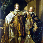 part 12 Hermitage - West, Benjamin. Portrait of George, Prince of Wales and Prince Frederick, later Duke of York