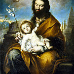 part 12 Hermitage - Torres, Clemente de. St. Joseph with the Christ child