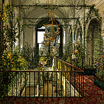 part 12 Hermitage - Ukhtomsky, Konstantin Andreevich. Types of rooms in the Winter Palace. Small Winter Garden of Empress Alexandra Feodorovna
