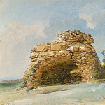 Uele, Jean-Pierre-Laurent. Tomb of the gate of the ancient city Tindari, part 12 Hermitage