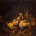 Fragonard, Jean Honore. Children farmer, Jean Honore Fragonard