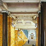 part 12 Hermitage - Ukhtomsky, Konstantin Andreevich. Types of rooms of the New Hermitage. The main staircase and the lobby