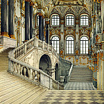 part 12 Hermitage - Ukhtomsky, Konstantin Andreevich. Types of rooms in the Winter Palace. Principal staircase