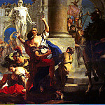 Tiepolo, Giovanni Battista. Rape of the Sabine Women, Giovanni Domenico Tiepolo