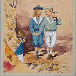 part 12 Hermitage - Flo, LA. Two children in sailor suits