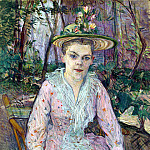 part 12 Hermitage - Toulouse-Lautrec, Henri de. Woman with umbrella