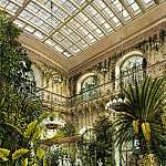 part 12 Hermitage - Ukhtomsky, Konstantin Andreevich. Types of rooms in the Winter Palace. Winter Garden.