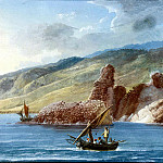 part 12 Hermitage - Uele, Jean-Pierre-Laurent. The rocks near the shore in the Bay of La Tritstsa
