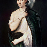 part 12 Hermitage - Titian. Portrait of a young woman
