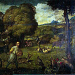 part 12 Hermitage - Titian. Flight into Egypt