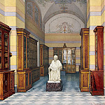 part 12 Hermitage - Ukhtomsky, Konstantin Andreevich. Types of rooms of the New Hermitage. Voltaires library