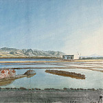 Uele, Jean-Pierre-Laurent. Ruins of ancient saltworks on the island of Salina, part 12 Hermitage
