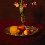 part 12 Hermitage - Fantin-Latour, Henri. Lemons, apples and tulips