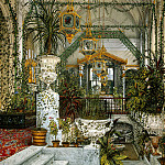 part 12 Hermitage - Ukhtomsky, Konstantin Andreevich. Types of rooms in the Winter Palace. Winter Garden of Empress Alexandra Feodorovna