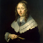 Flink, Govert. Portrait of a Woman, Govert Teunisz Flinck