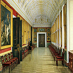 Ukhtomsky, Konstantin Andreevich. Types of rooms of the New Hermitage. Art Gallery, with paintings by Italian schools, part 12 Hermitage