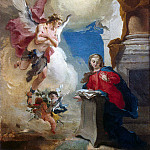 Tiepolo, Giovanni Battista. Annunciation, Giovanni Battista Tiepolo