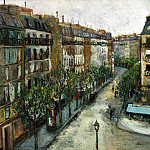 part 12 Hermitage - Utrillo, Maurice. Custine Street in Montmartre