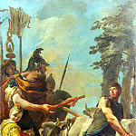 Tiepolo, Giovanni Battista. Calling of Cincinnatus dictator to power, Giovanni Battista Tiepolo