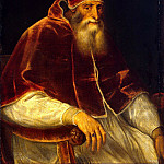 part 12 Hermitage - Titian and workshop. Portrait of Pope Paul III